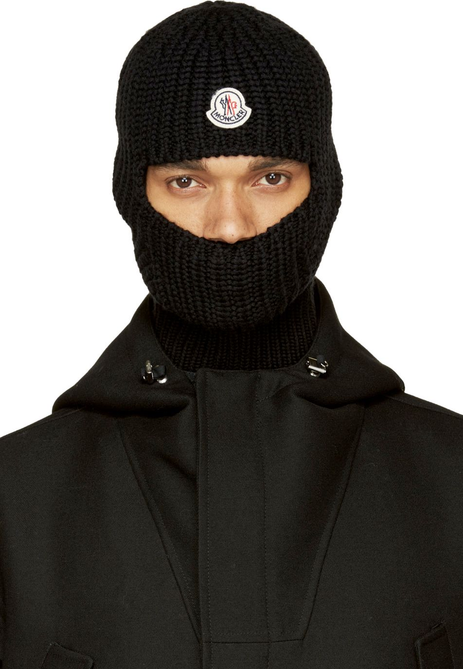 Moncler Black Wool Balaclava | Men\'s Clothes | Pinterest