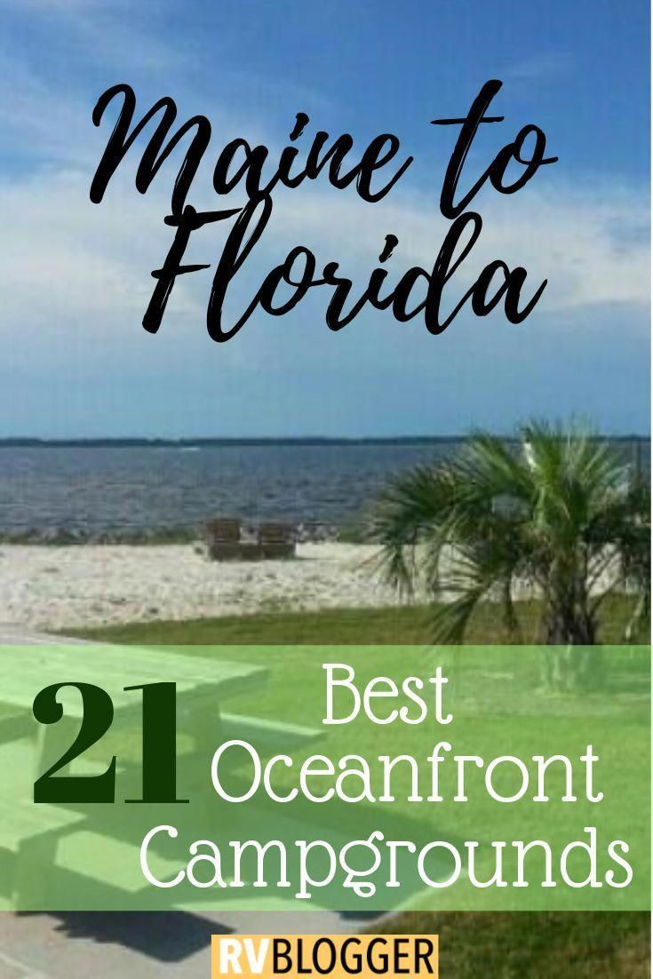 Check out these RV oceanfront parks for RV Beach Camping! This camping on the beach travel guide features RV oceanfront and beach campgrounds! Click, Save or Send to explore the beauty of oceanfront camping #rvblogger #rvliving #rvlifestyle #rvtravel #rvideas #camping #campingtipsandideas #oceanview #ocean #oceanlife #beachvacation #rvcampinglocations #rvparks