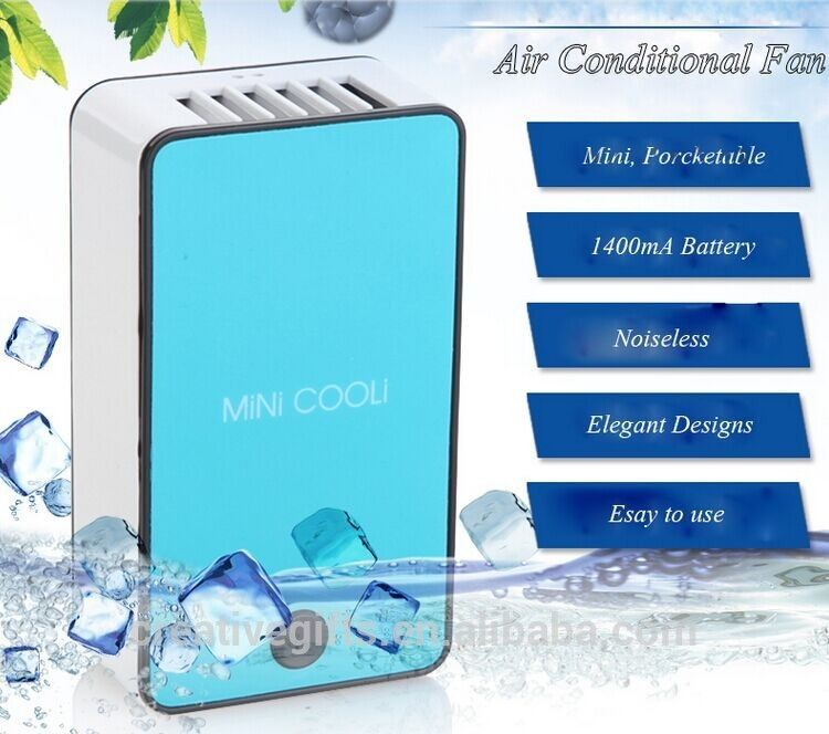 Cooling Usb Mini Battery Rechargeable Pocket Bladeless Fan Air Cooling Fan Air  Conditioner Office Fan