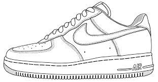 Shoe Template Google Search Logo Dibujo Zapatillas Zapatos