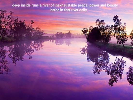 Purple Haze Picture From Nature Sunrise Early Morning Calm River With A On It Beautiful