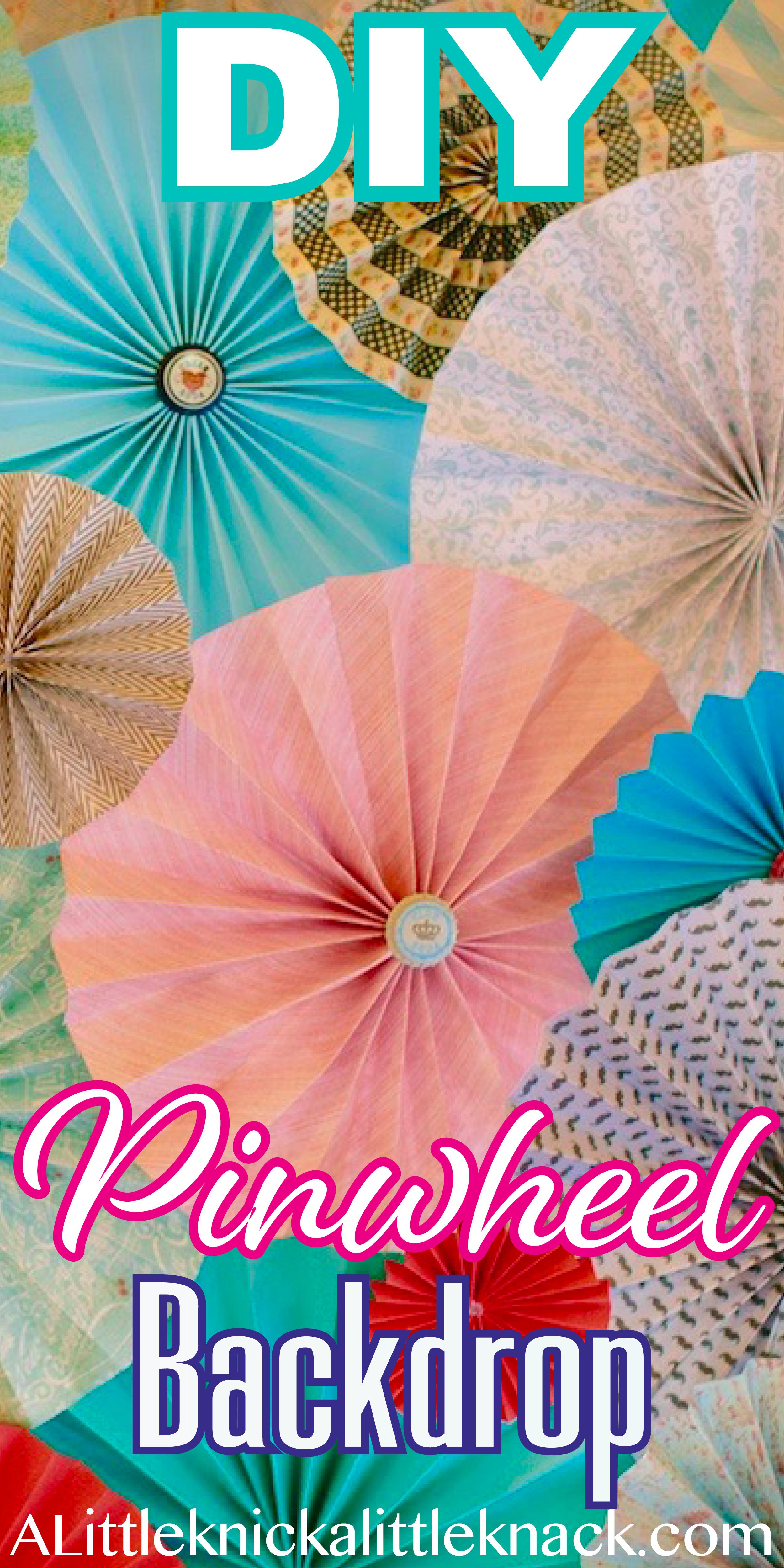 DIY Pinwheel Backdrop | Diy wedding photo booth, Photo ...