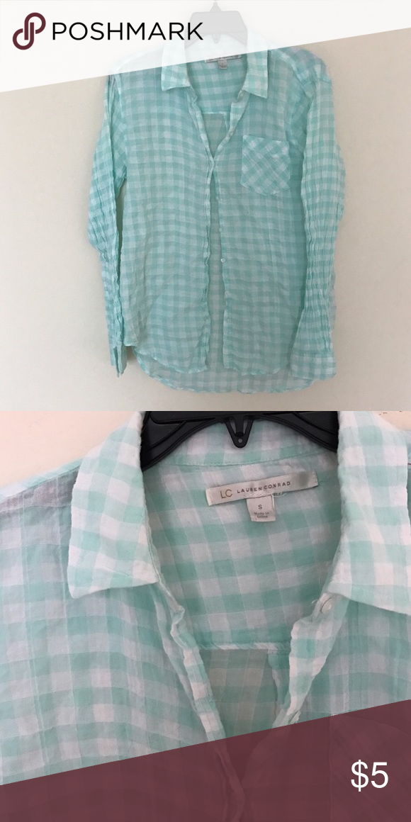 Lauren Conrad top No flaws or damage! Excellent condition! Shop my closet and bundle! All items are only listed for a few days, so take advantage of them if you'd actually like to purchase!! 😺 LC Lauren Conrad Tops