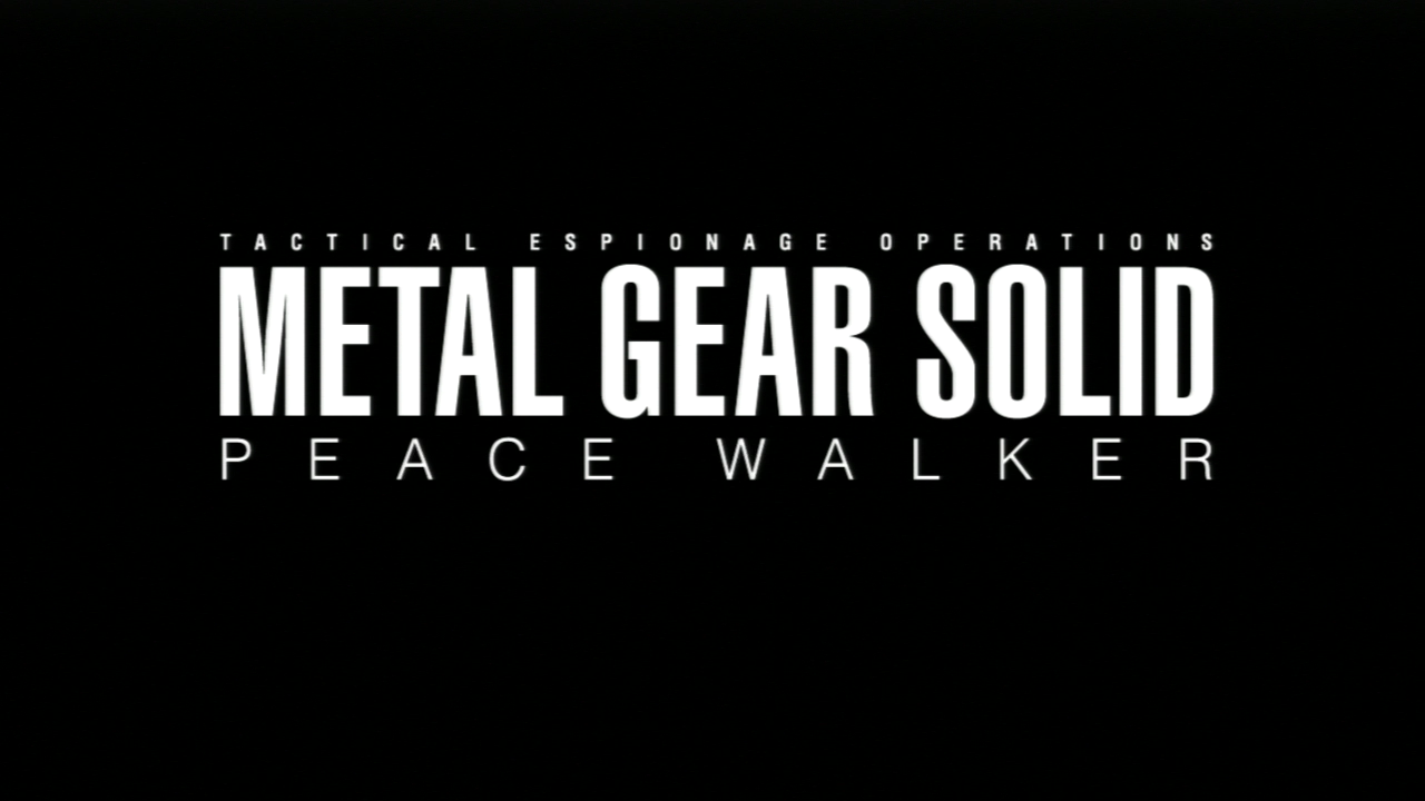 Pin By C Santos On Metal Gear Solid Peace Walker Metal Gear Metal Gear Solid Peace