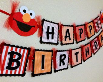 Elmo birthday banner chevron boy by celebrationbanner on etsy elmo birthday banner chevron boy by celebrationbanner on etsy solutioingenieria Image collections
