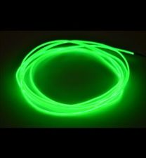 10 ft 2.6 lime green el wire kit