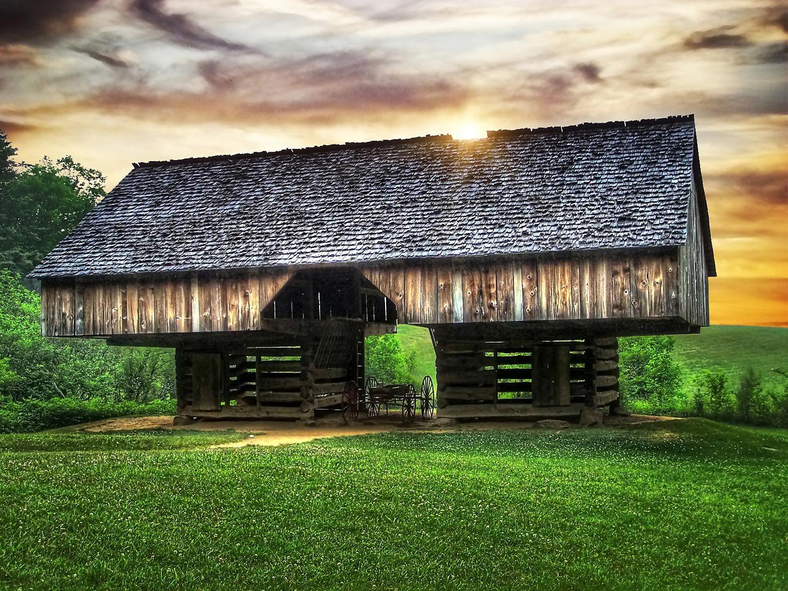 Crazy design for a barn.   Beautiful old barns   Pinterest   Barn ...