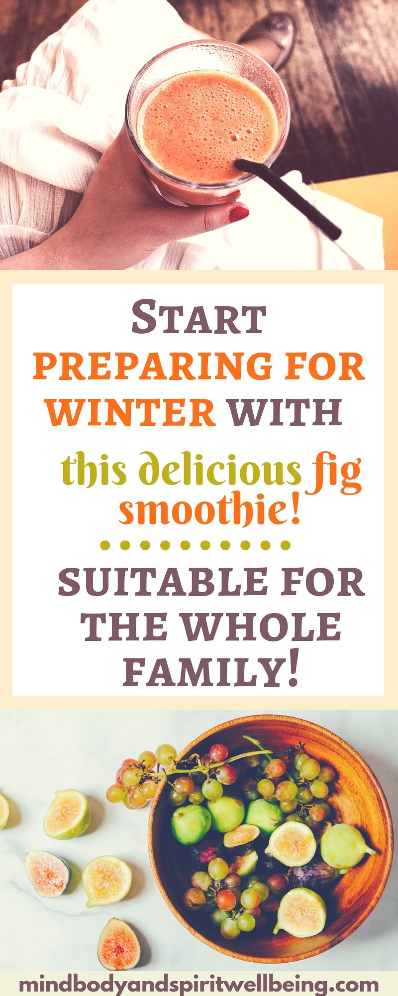 ImmuneBoosting Fig Banana Smoothie Recipe Fig