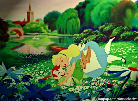 Alice And Peter Pan