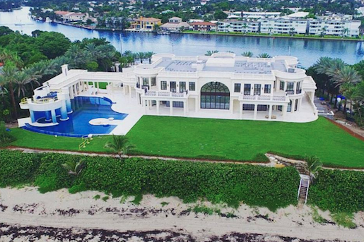 Opulent 33,000 Square Foot Oceanfront Mega Mansion In North Palm Beach, FL | Homes of the Rich – The #1 Real Estate Blog