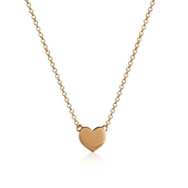 Plata Diamante Diseño de corazón Rhinestone Colgante Collar Chapado En Plata