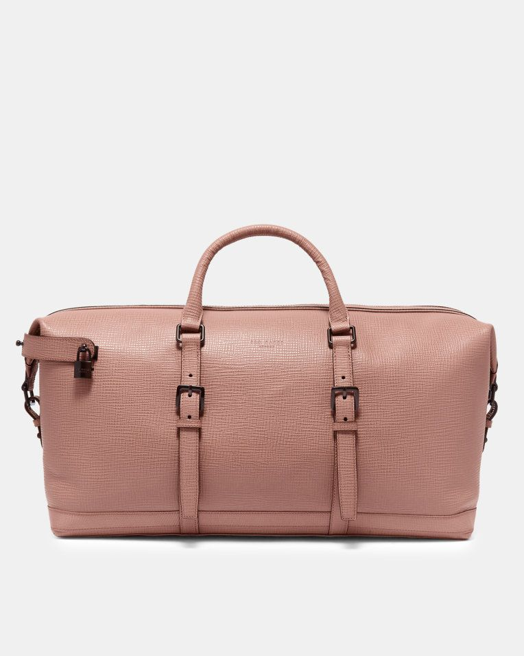 8c598334ed21a9 Palmelato leather holdall - Pink