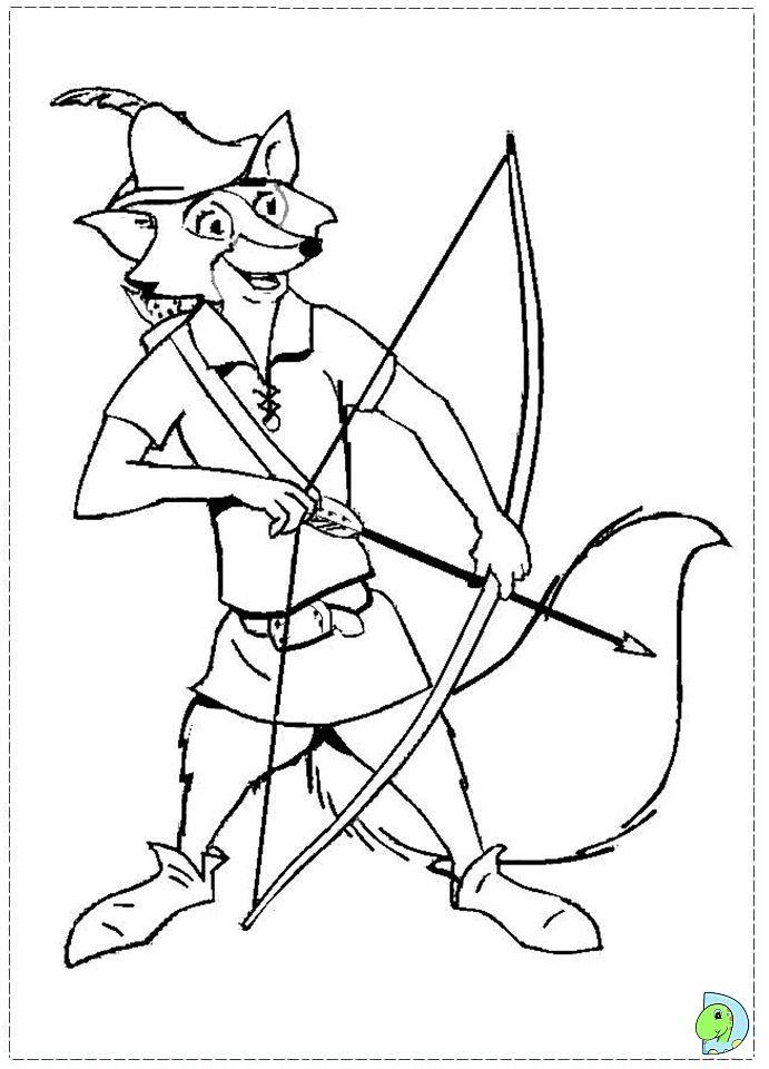 Atemberaubend Disney Robin Hood Malvorlagen Ideen - Druckbare ...