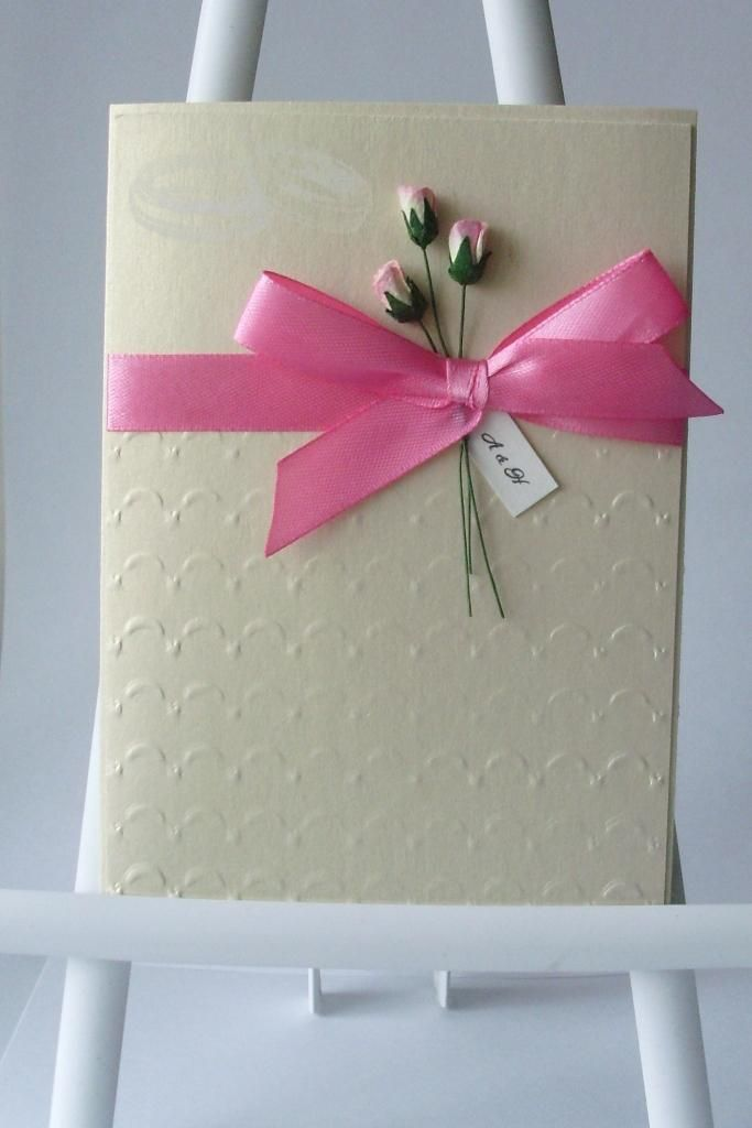 DIY Cards DIY Paper Craft : DIY Elegant handmade wedding invitation ...
