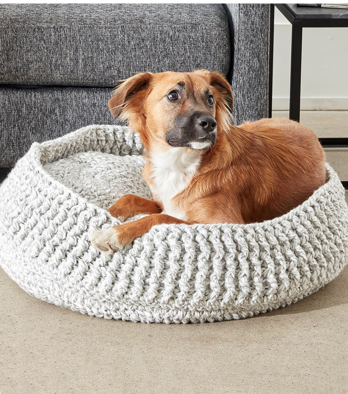 crochet pet bed instructions | do or DIY | Pinterest | Crochet pet ...