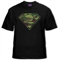 BEWILD.COM: Superman Camo Logo T-Shirt Buy Now $19.99 Find at Faearch