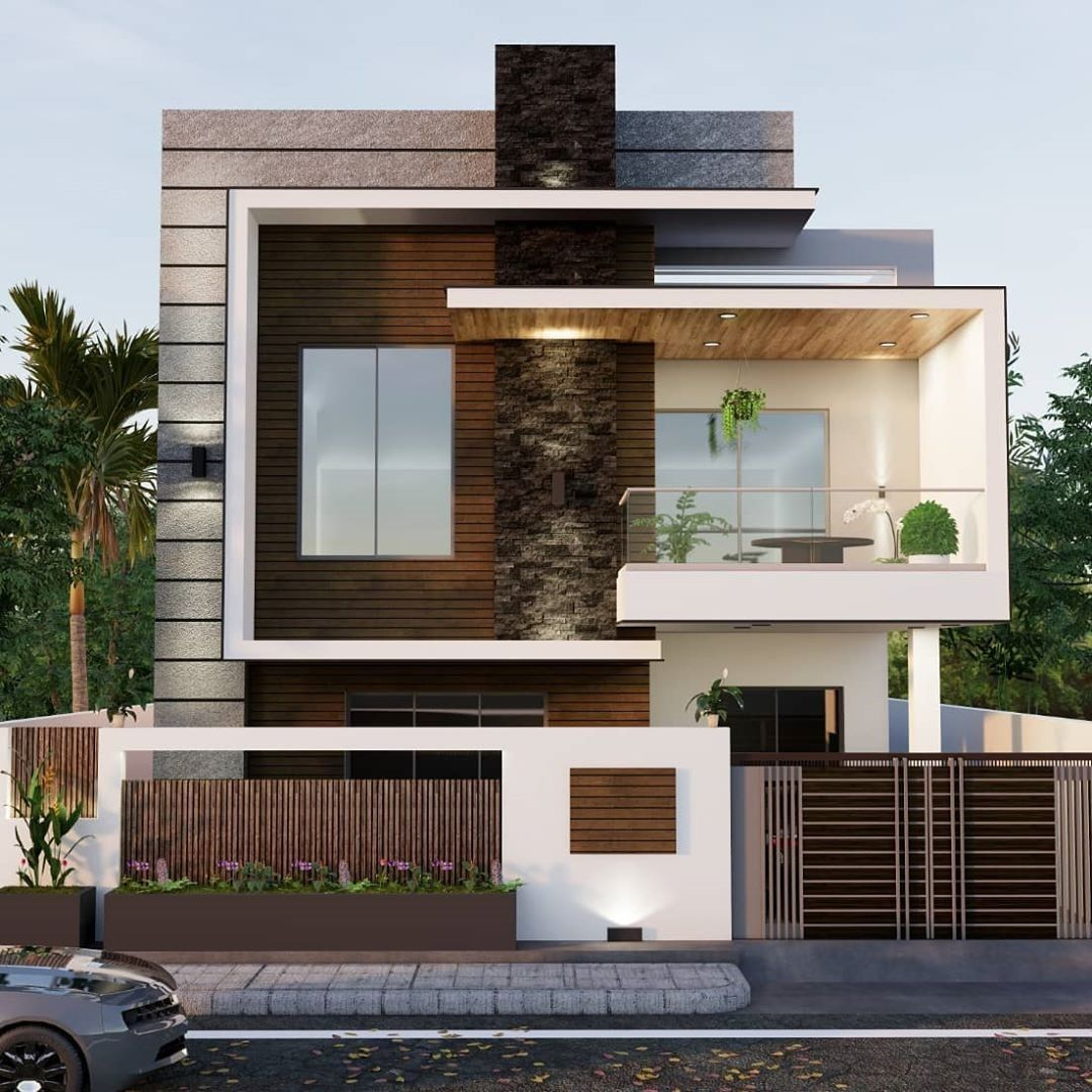 Amazing Exterior Modern House Design Ideas That Will Make Your Abode Cozier To See Small House Design Exterior House Gate Design Modern Exterior House Designs