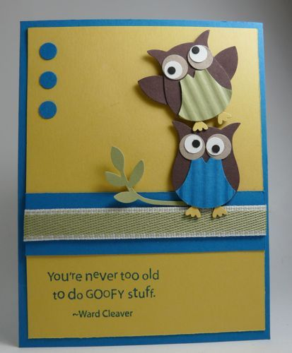 LOTS of cute and fun cards and paper crafts