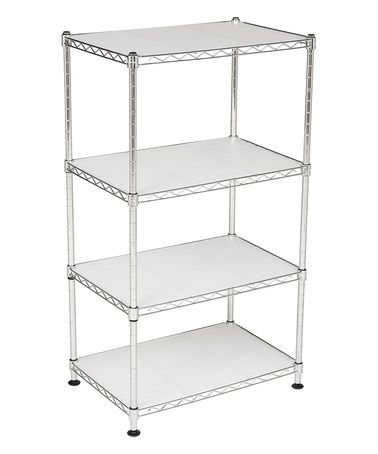 Another great find on #zulily! Julian Four-Tier Adjustable Chrome Wire Mini Rack #zulilyfinds