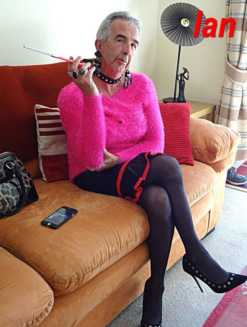 Fetish heels smoking nails