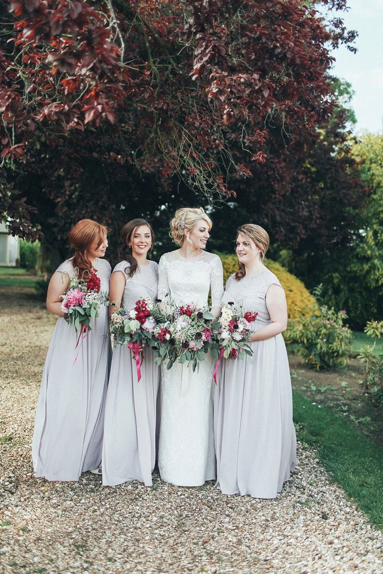 Beautiful pink gold wedding with a gin flavour grey bridesmaid beautiful pink gold wedding with a gin flavour grey bridesmaid dressesgrey bridesmaidsbouquet flowerswedding ombrellifo Gallery
