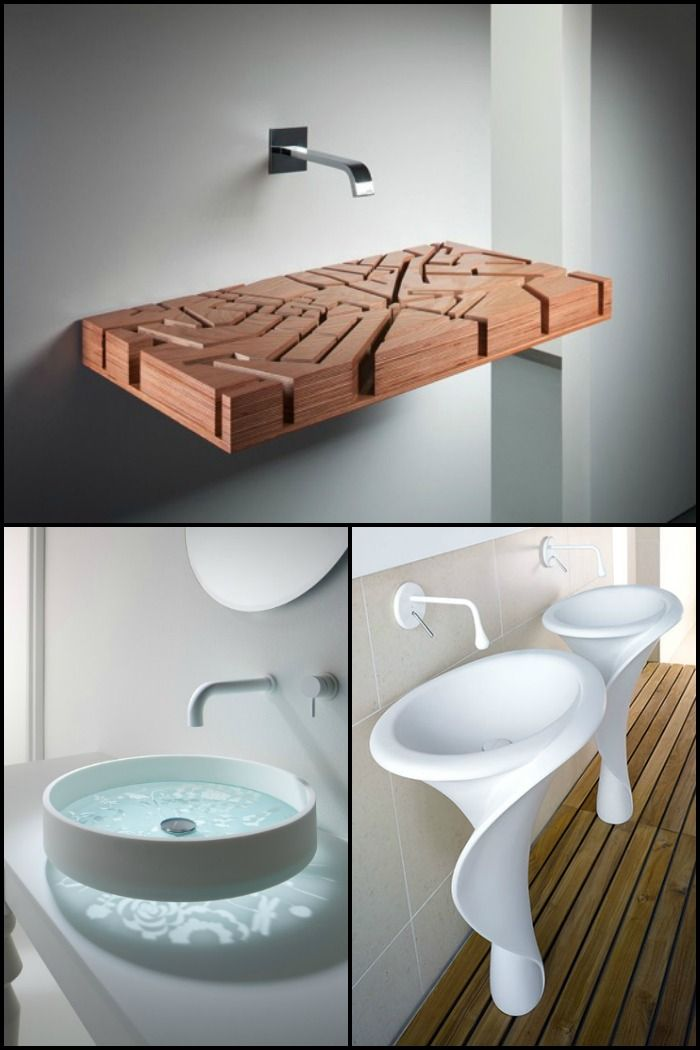 10 Unique Sinks You Won T Find In An Average Home Unique Sinks Unique Bathroom Sinks Sink Design
