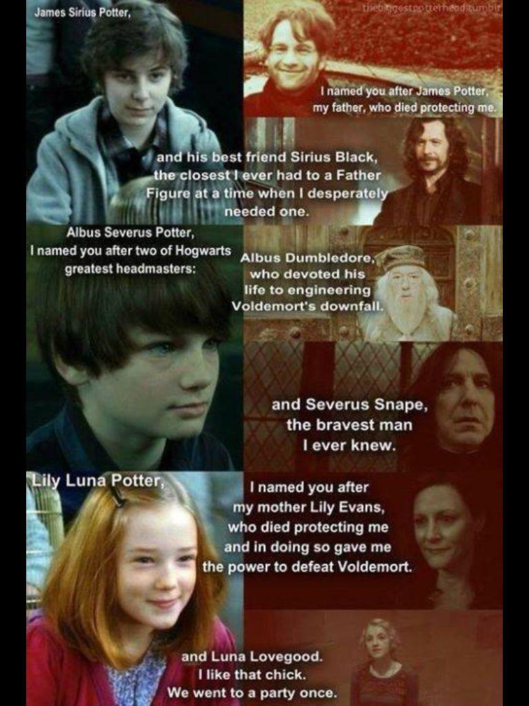 Hp Second Generation Name Origins James Sirius Potter Lego Harry Potter Albus Severus Potter