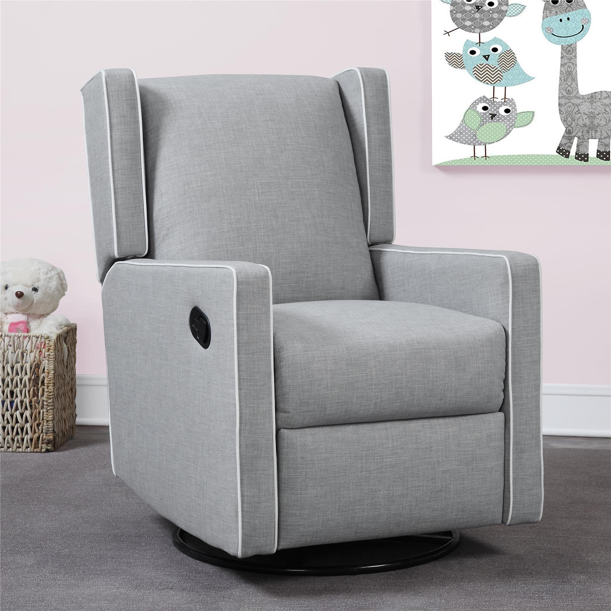 Beautiful Grey Nursery Chair