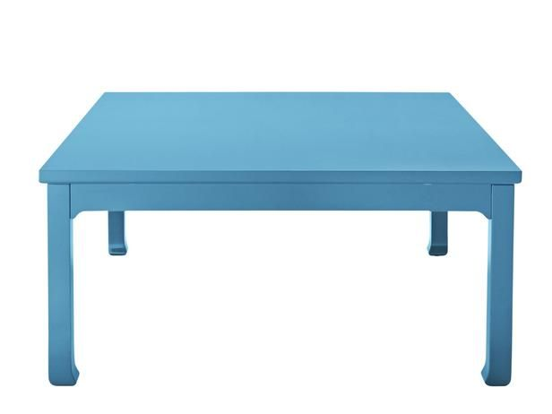 This Jonathan Adler blue coffee table won HGTV Magazine's Furniture of the Year Award for best supporting player. #hgtvmagazine http://www.hgtv.com/entertaining/hgtv-magazines-2014-furniture-of-the-year-awards/pictures/page-6.html?soc=pinterest