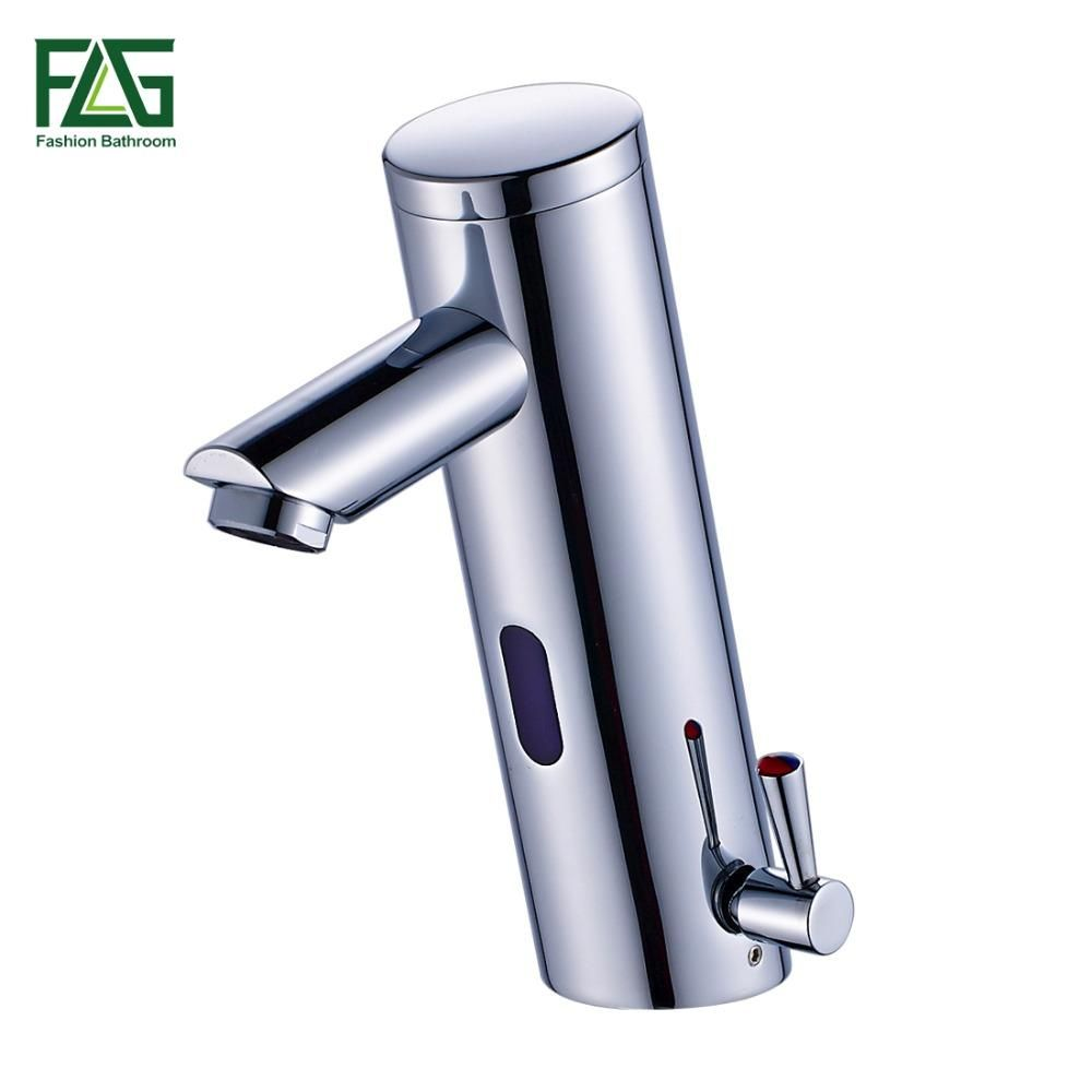 Buy NEW Hot Cold Mixer Automatic Hand Touch Tap Hot Cold Mixer ...