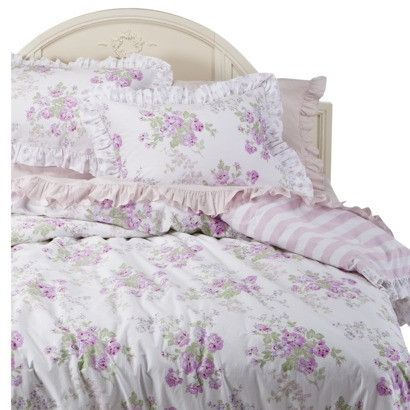 Simply Shabby Chic White Pink Essex Floral Full Queen 3 Piece Duvet Set Ebay Target Shabby Chic Bedding White Shabby Chic Simply Shabby Chic