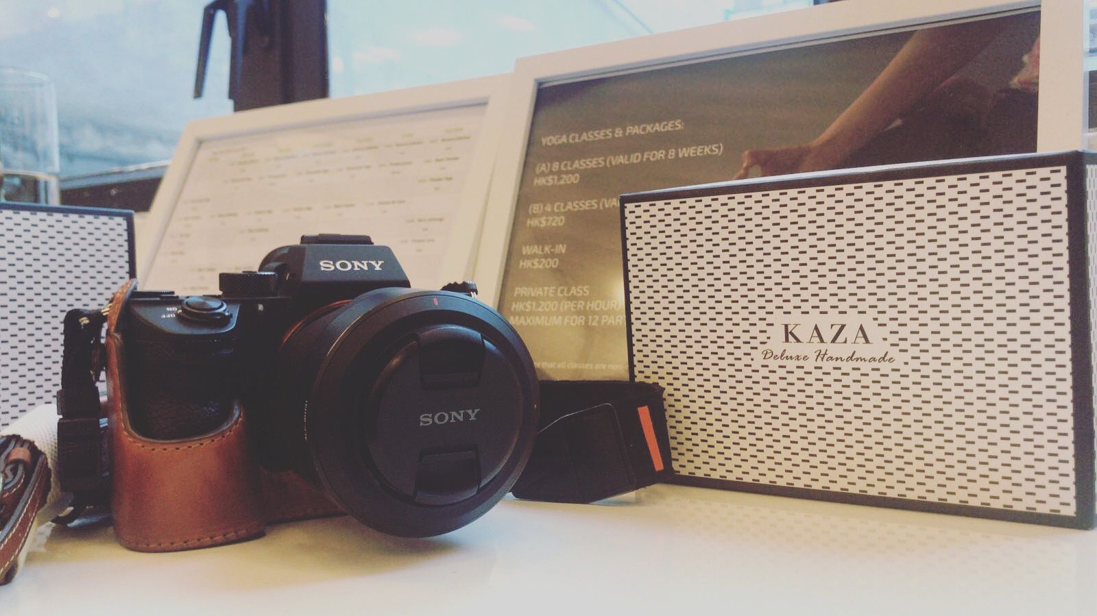 A7r3 / a73 cases by KAZA credit to Jack #革小物 #sonya7iii
