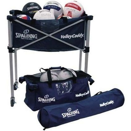 Volleyball Carts Hammocks Spalding Volleycaddy Spalding Volleyball Equipment Volleyball