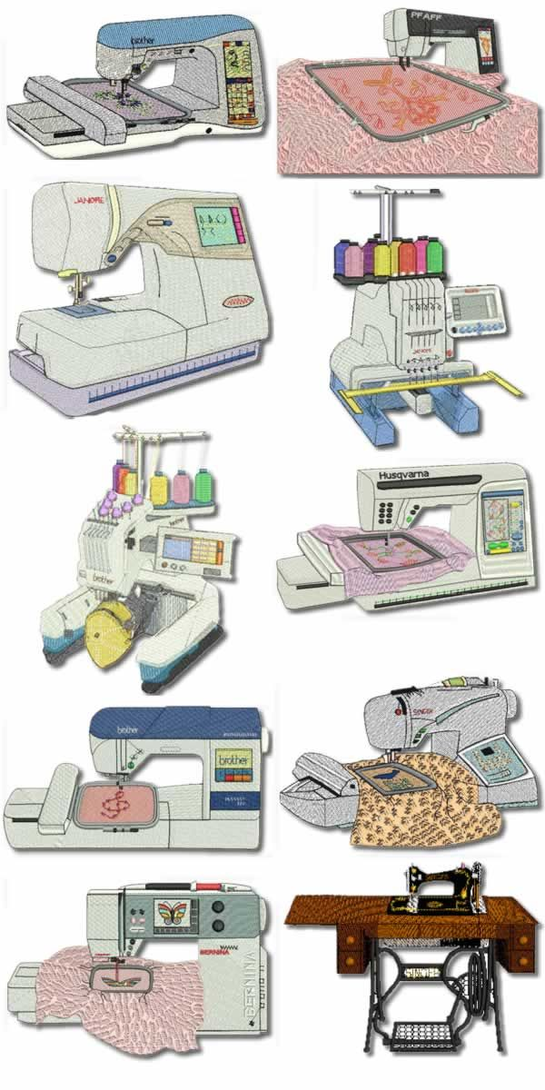 10 set Embroidery Machine Embroidery Designs | Embroider | Pinterest ...