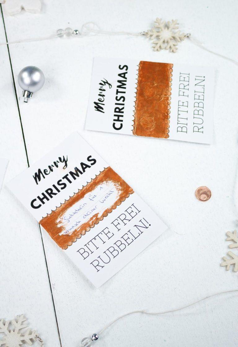 Rubbellose Weihnachten