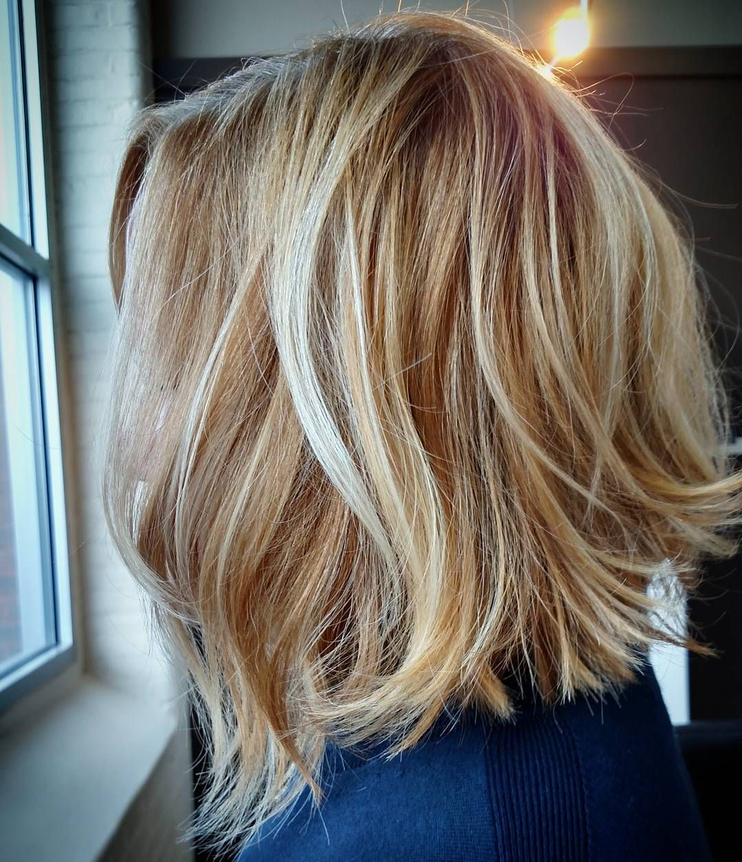 Blonde Unstructured Bob Hair Styles Bob Hairstyles Red Blonde Hair