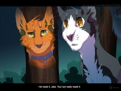 Not Mine I Love The Idea Of Jake Being With Tallstar In Starclan