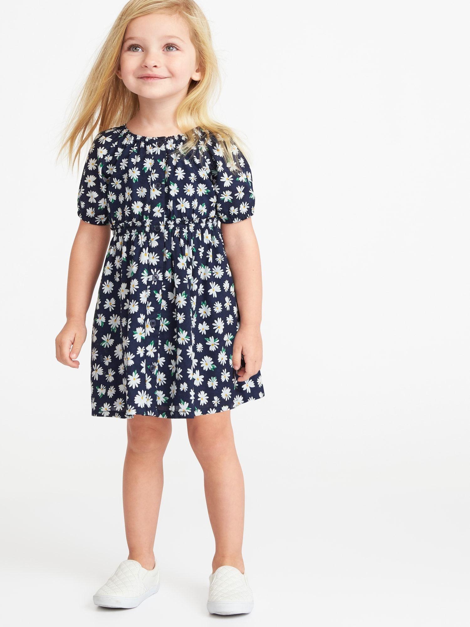 612aaa25c1b8 Floral-Print Shirt Dress for Toddler Girls   Daughter   Floral print ...