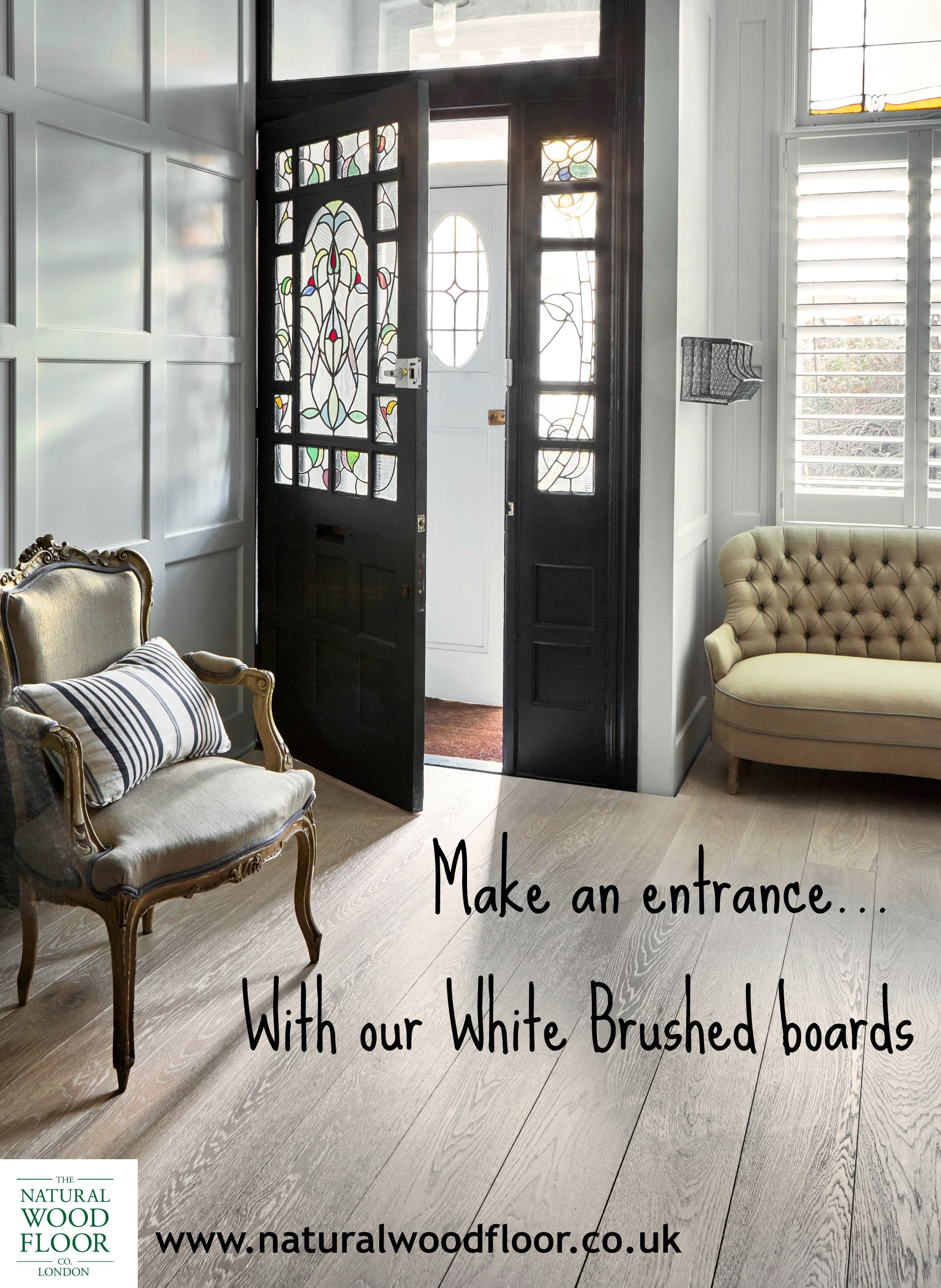 Our White Brushed boards will make a great first