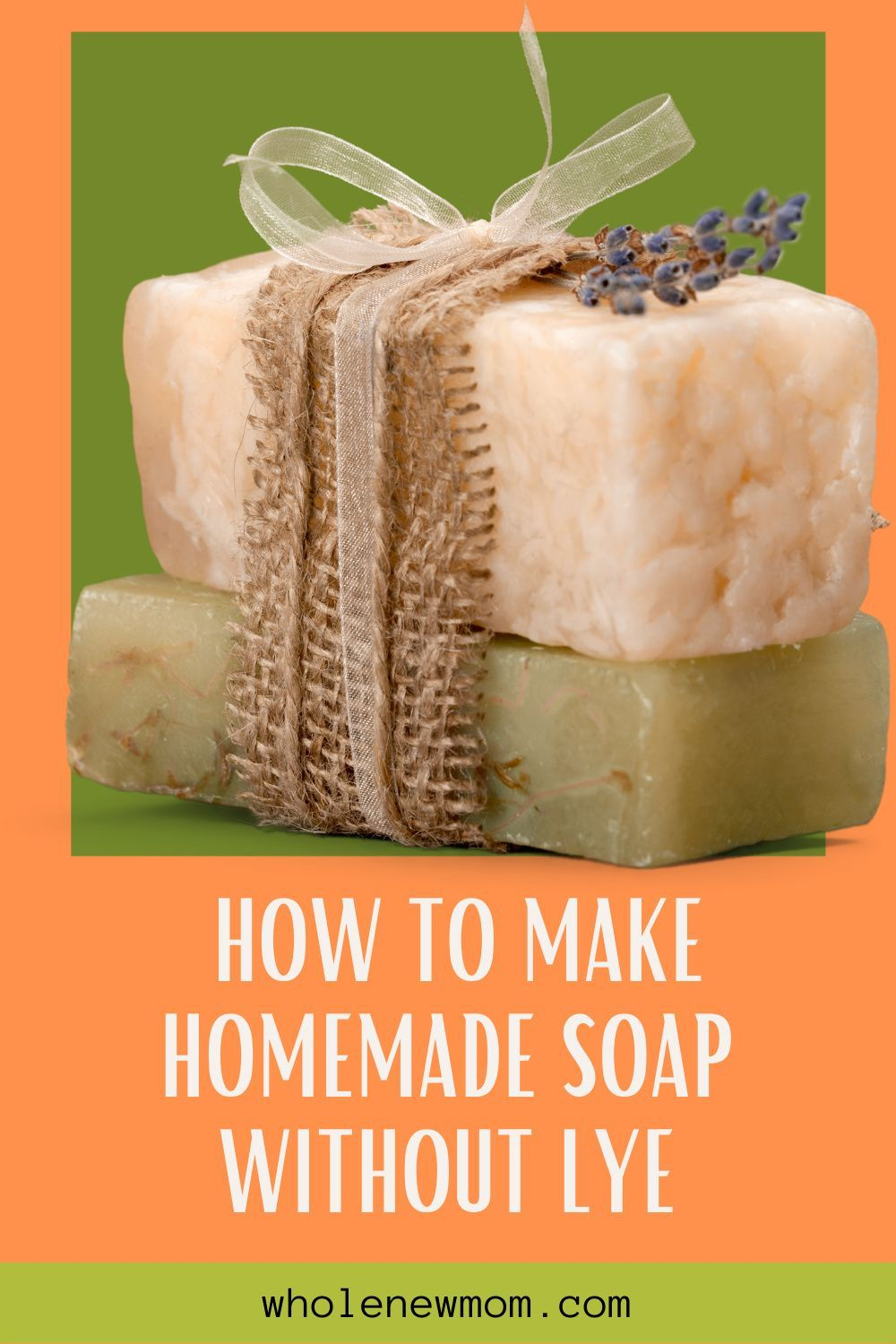 How To Make Soap Without Lye You Ll See What I Mean Whole New Mom In 2020 Food Processor Recipes Homemade How To Make Homemade