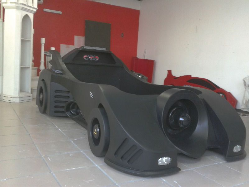 Youth Kids Bedroom Batman Dark Knight Twin Size Platform: Pin By Seth Lee On Beds In 2019