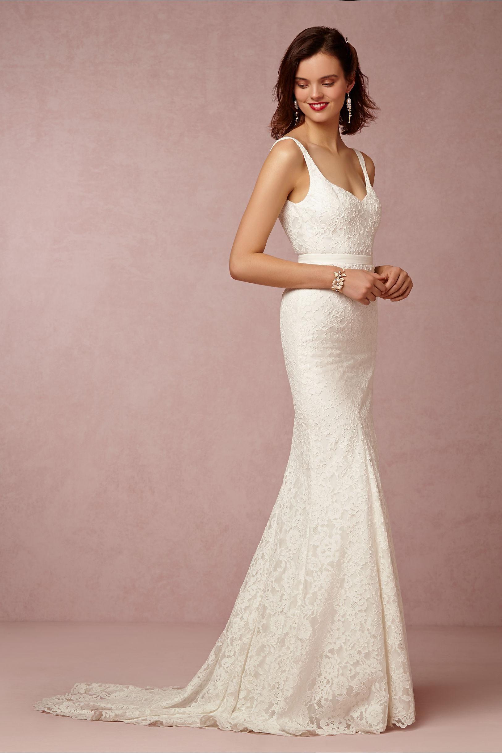 Corset Wedding Dresses Bhldn 2016 Elegant Wedding Dresses V Neck ...