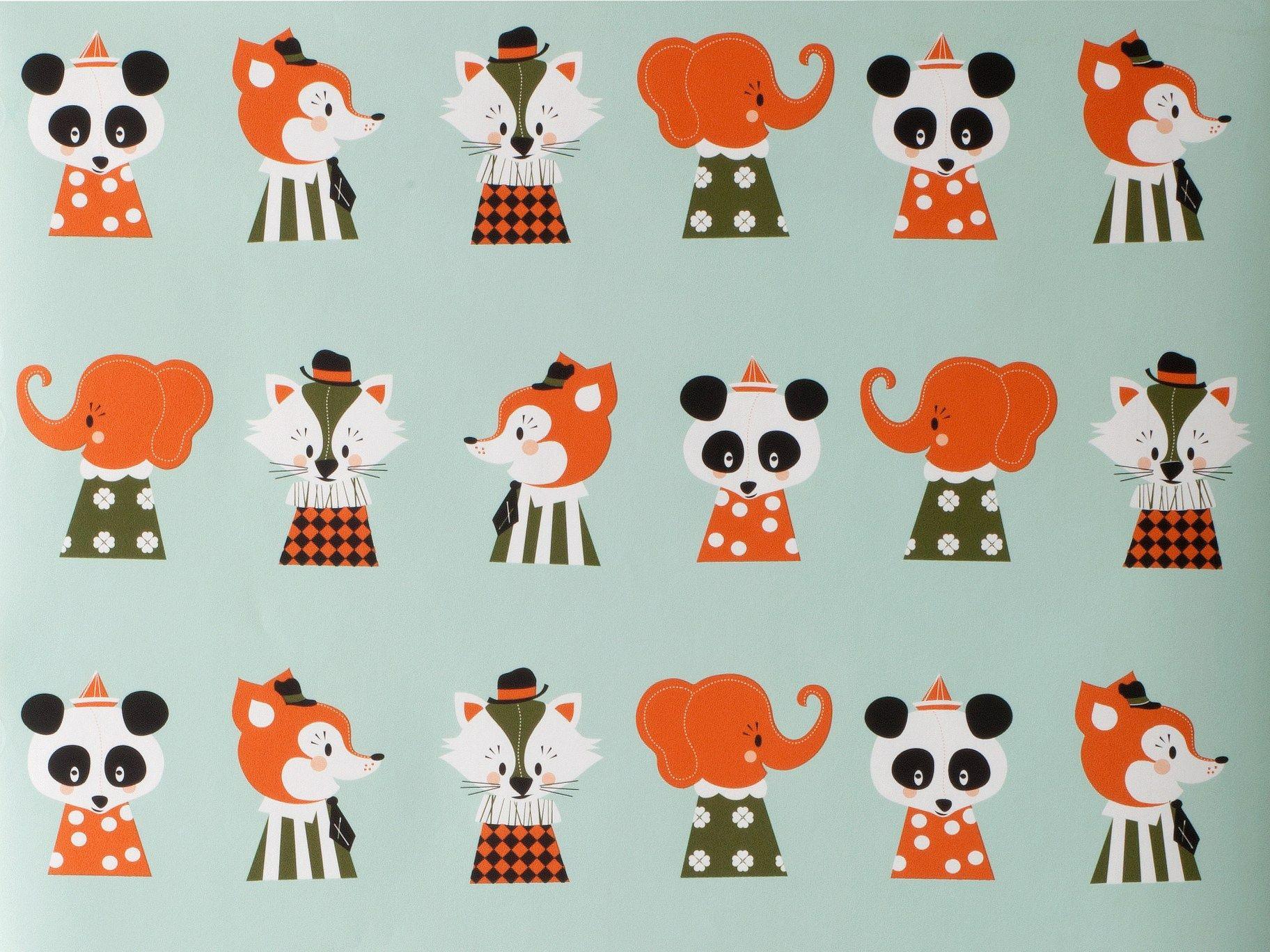 Papier Peint Motifs Pour Enfants Marionette - Papier Peint Collection