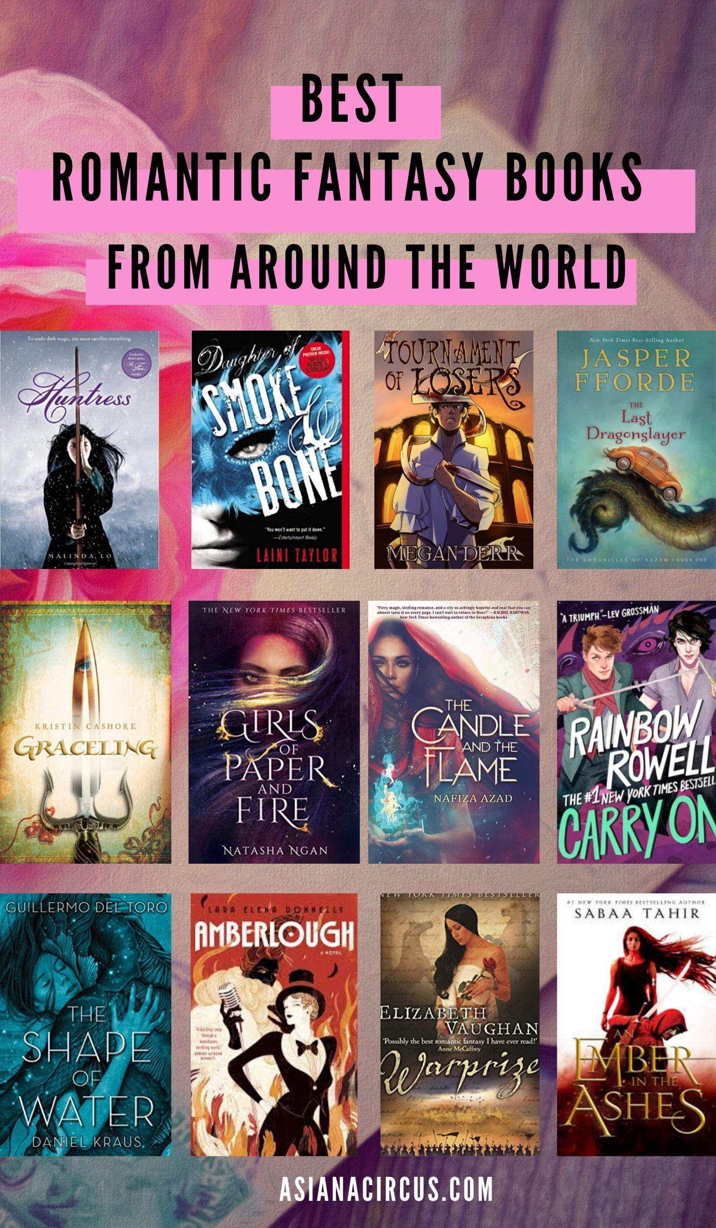 51 Best Romance Fantasy Books Novels To Read 2020 Asiana Circus Romantic Fantasy Book Fantasy Books Fantasy Romance Books