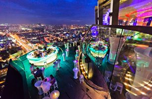 Chill Sky Bar, Ho Chi Minh City, Vietnam | NIGHT LIFE | Sky