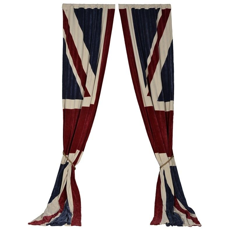 curtains - vintage union jack | timothy oulton | be inspired by, Innedesign