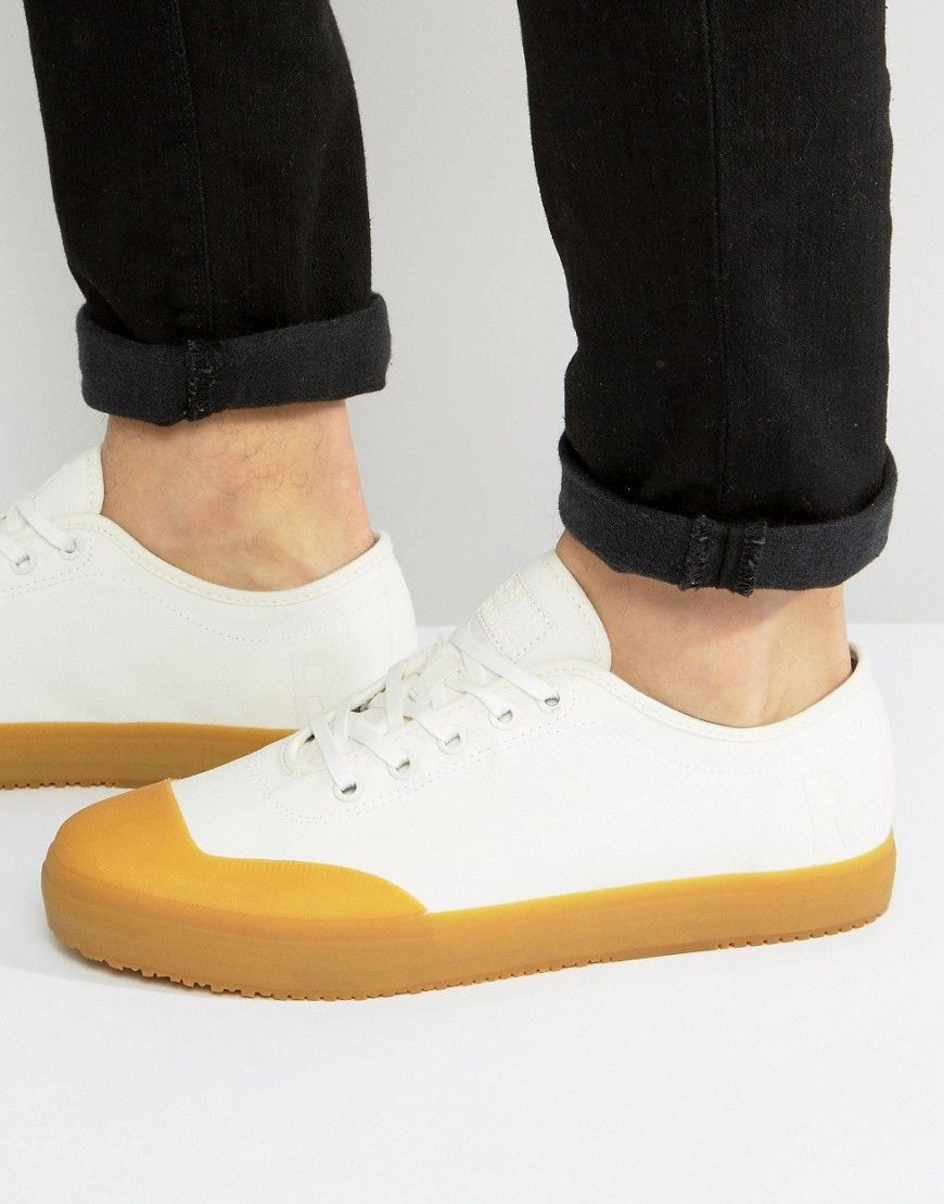G-STAR MIDRO GUM SOLE SNEAKERS - WHITE. #g-star #shoes