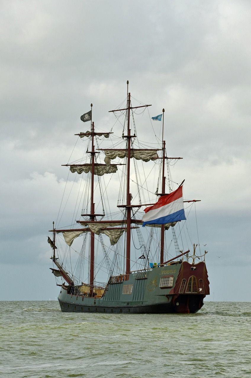 Boat boat ship pirate ship pirate flag boat boat