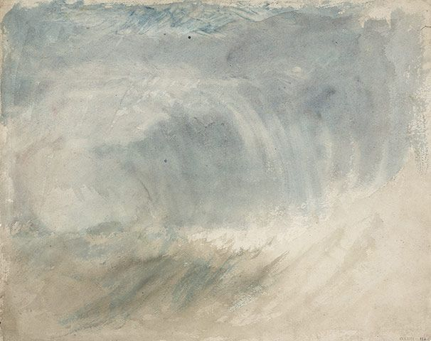 storm at sea | ca. 1825 | jmw turner