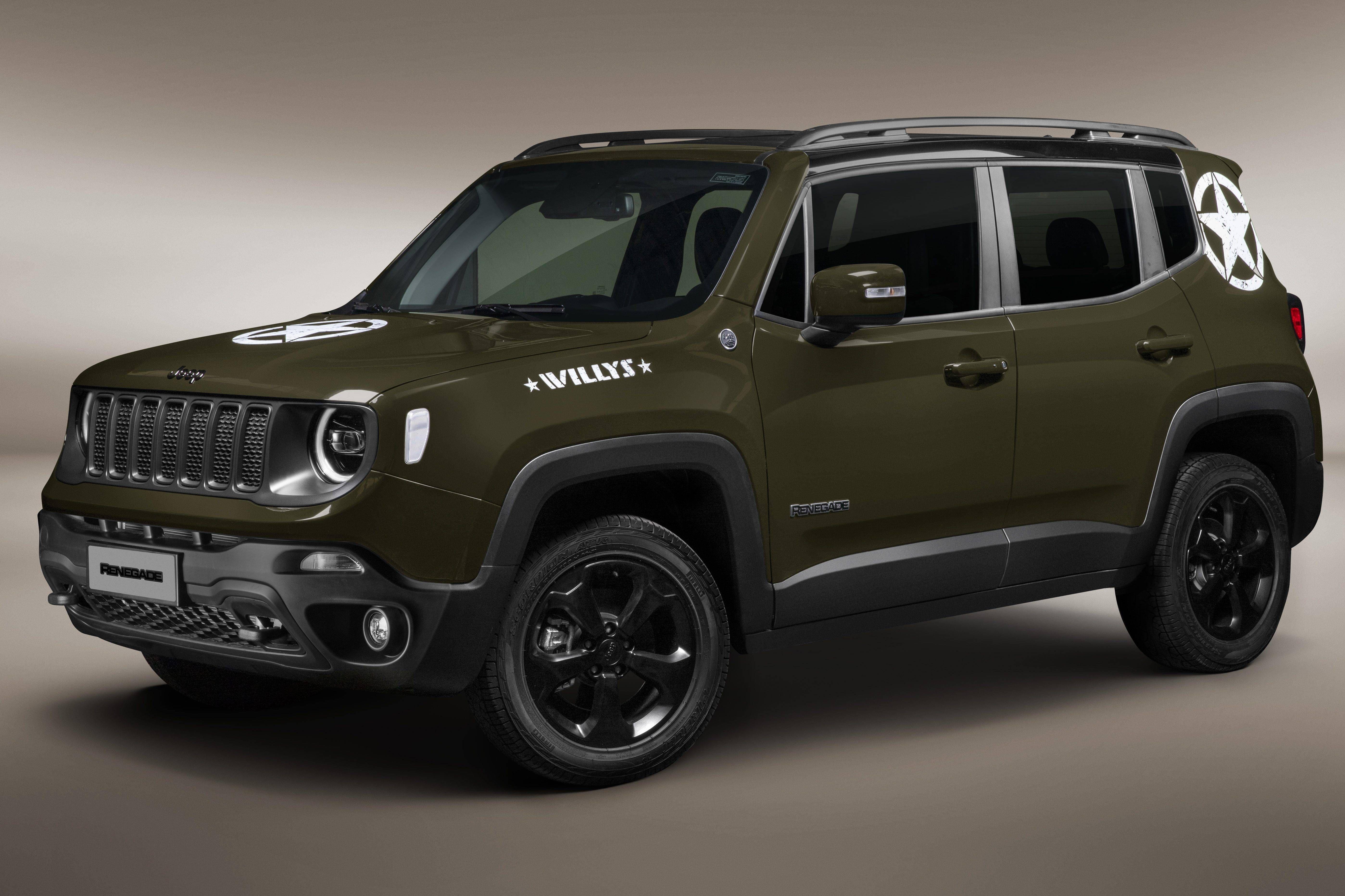 Edicao Especial Do Jeep Renegade Homenageia O Willys Overland